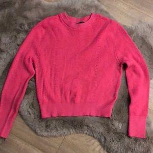 Dynamite Crop Knit Sweater